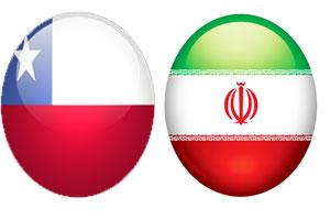 بازی ایران و شیلی