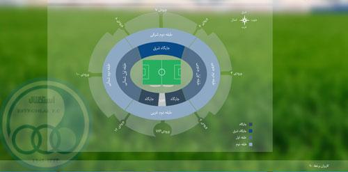 قیمت بلیط ورزشگاه آزادی